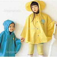 FREE SHIPPING NEW RAINCOAT KIDS BOY GIRL PACK  WET WEATHER RAIN COAT WATERPROOF BNIP