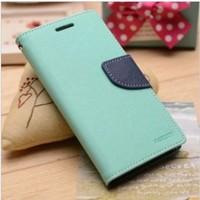 Korea Original Mercury Leather Case for SS Galaxy S4 Mini i9190 Goospery New Fancy Diary Case & Screen Protector (SX193)