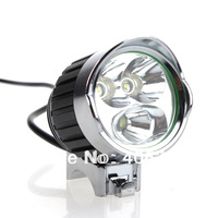 1xCREE XM-L T6+2xCREE Q5 1200-Lumen 3-Mode LED Bicycle Light Cycling light (4x18650 Battery pack)+Free Shipping