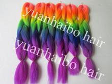 rainbow hair extension reviews