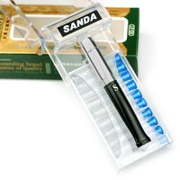 Sanda sanda cigarette holder sd-21 filter type double filter cigarette holder gold and silver
