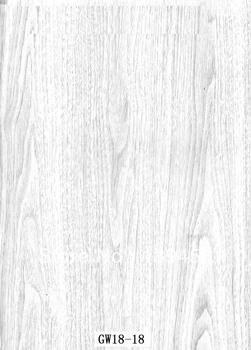Water transfer printing film wood GW18-18,width 100cm