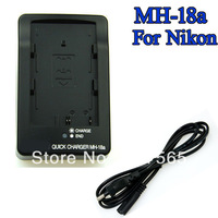 US/EU/UK/AU New MH-18a BATTERY CHARGER FOR NIKON D50 D70 D80 D90 D200 D700 EN-EL3a EN-EL3e