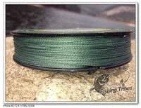 """free shipping""  150 yards 6LB-80LB green  4 wire 100% PE braided  fishing line fishing tackle"