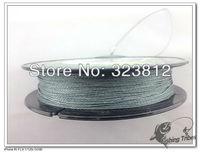 """free shipping""  150 yards 6LB-80LB gray  4 wire 100% PE braided  fishing line fishing tackle"