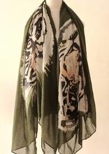 popular tiger scarf