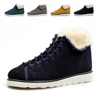 free shipping 2013 winter warm male shoes boots men cotton shoes winter boots men  and wool Martin boots