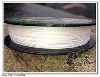 Wholesale - 100yards 8lb10LB15LB20LB30LB40LB50LB65LB80LB100LB white braided fishing line dyneema  free shipping