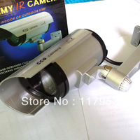 Free Shipping Security Dummy IR Camera Fake camera Waterproof IR LED Surveillance For Outdoor Indoor dropshipping wholesale