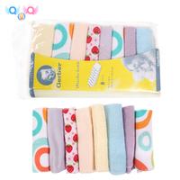 "Free shipping Gerber towel baby wash cloth 9""x9"" infant towel baby feeding towel handkerchief 16pcs/lot"