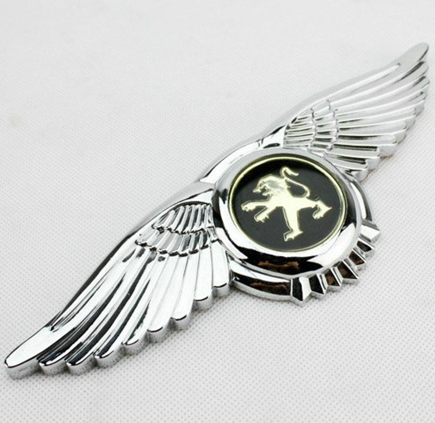 Eagle Wings 3D Car Logo Sticker AUTO Front Hood Bonnet Free Shipping