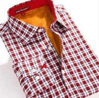 Men's shirt in winter to keep warm shirt