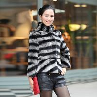 2012 autumn and winter fur rex rabbit hair long-sleeve short rex rabbit design fleece outerwear