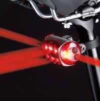 Freeshipping!Cateye cat-eye bicycle rear light safety warning light seat lamp grenade lamp ld1100