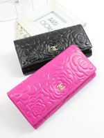 New arrival 2013  long design genuine leather first layer of cowhide  women card holder wallet free shipping