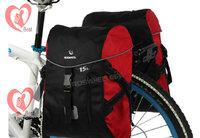 Outdoor Waterproof Cycling Bicycle bag bike Pannier Bag Bike Big Rear Seat Tail Bag 30L