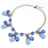 10pcs/lot Wholesale Luxury 3 colors bees style short necklace fashion Chokers Necklaces for women