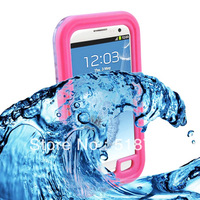 Pink  luxury Military Survivor Defender Dirt Shock Waterproof Case for Samsung Galaxy S4 SIV i9500 Stand Cover For S4