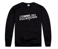 Freeshipping 6 styles SSUR COMME DES FUCKDOWN Sweatshirts  men's designer cotton sweater  coat  cheap sale!