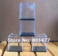 "20pcs Clear Acrylic Display Case Toy Display Multi-use Dustproof Transparent Box 5x5x5cm/2"" HDC2"