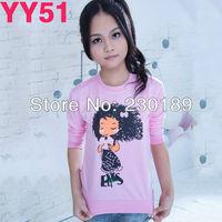 2013 Fashion Leisure Cute Girl Character Spring/Fall Coat Women Hoodies T Shirt Sweater Sweat Suit Outer Wear Tops
