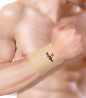 Adjustable Wrist wrap support Nylon elastic bandage complexion color free shipping