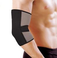 Free shipping black Emergency Kits elbow support pad basketball football badminton volleyball 2pcs/lot