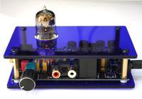 HiFi P6 Tube valve 6N3 Stereo Buffer Preamp preamplifier amplifier 110/220V