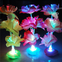 Optical fiber flower wire colorful rose shiny hot-selling toys home decoration 005
