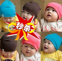 Baby hat baby hat infant hat spring and autumn summer male female child child hat 100% cotton