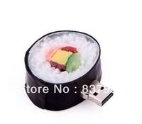 lovely wholesale 1GB4GB 8GB 16GB 32GB 3D japan sushi food USB flash memory drive Pen U disk Iron Box packed gift