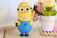 Despicable Me 2 Minion 5600Mah Portable Power Bank Emergency External Backup Battery Charger For iPhone 5C iPhone5 5S Samsung