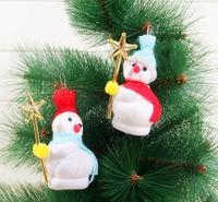 Christmas snowman Christmas ornament  two mounted pendant Christmas gifts Free shipping