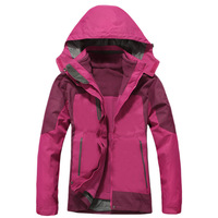 Female Outdoor 3in1 Women's Waterproof Climbing Coat Women Skiing Jackets Windbreaker,Women Warm Camping Winderproof Coat