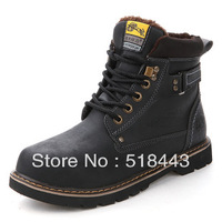 Free shipping hot selling 2013 autumn and winter casual snow boots male thermal cotton-padded shoes fashion male cotton shoes