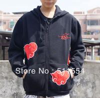Free shipping Naruto all size Cosplay Costume  Japanese Anime hoody cheap sweatshirt hoodies