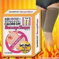 Min order $9.9 can mix 711 massage belt health care bandage burning fat slimming beam with legs