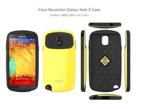 New Fashion Lowest Price iFace Revolution Case For Galaxy Note 3 N9000 Note III Korea Style Candy Color Free shipping