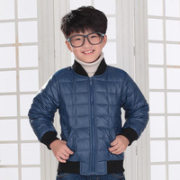 Children winter down coat boy winter casual down parkas children's clothing leather jackets for babies