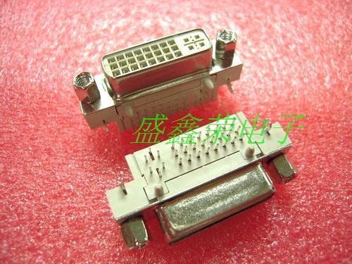 Dvi socket dvi24 5 socket 90(China (Mainland))