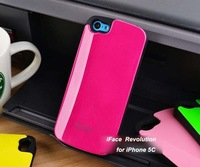 100pc/Lots DHL Free For iphone 5C Case Korea Style Brand New iFace Revolution Case Candy Color  Top Quality