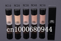 FREE SHIPPING spf10 2colors liquid foundation Breathable oil-free Natural color mineralize satinfinish spf15 30ml