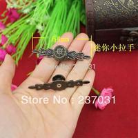 64MM long mini handle / alloy handle / drawer / jewelry box handles / antique handle