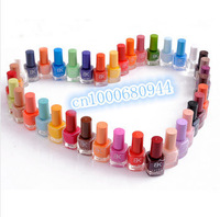 Free Shipping 8 Piece/Lot Candy Color 2013 Hot selling Nail Art nail Enamel 18 seconds quick dry