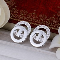 Free shipping/hot sale fashion silver earrings,high quality silver earrings,wholesale fashion jewelry,wholesale jewelry 399