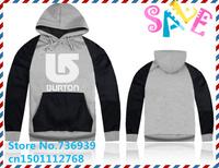 Online Stock Brand Burton Cheap Free Shipping 2014 Fashion Brand Winter Hoodies Sweatshirts