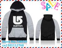 Online Stock Brand Burton Cheap Free Shipping Top Brand Hoodies Men Coat Korean Hoodie Man Men Jacket Winter Men Hoodies