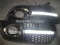 2* LED Daytime Running light  for  Audi  Q5(2009-2012)  free shipping