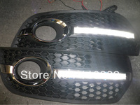 2* LED Daytime Running light  for  Audi  Q5(2009-2012)  free shipping