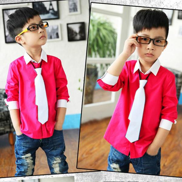 Turmec » long sleeve dress shirts for boys